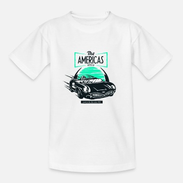 Muscle The Americas muscle car USA 1949 car racing tune - Kids' T-Shirt