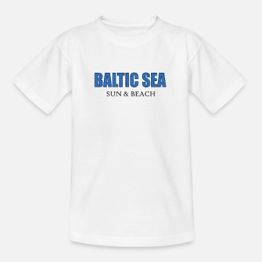T-Shirt Femmes-Rostock ANCRE-Mer Baltique Mecklembourg vacances