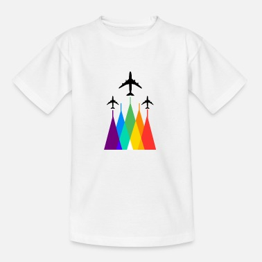 Airline Rainbow Airlines - Kinder T-Shirt