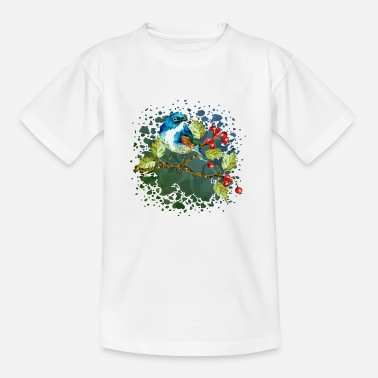 Symbol Colorful bird - Kids' T-Shirt