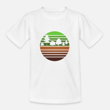 Nature and trees - Kids' T-Shirt