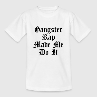 Gangster Rap quote - Kids' T-Shirt