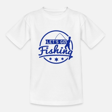 Pêcheur lets_go_fishing_1_f1 - T-shirt Enfant