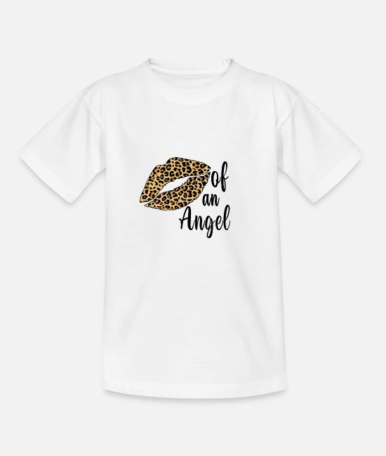 Ángel T-Shirts - Of An Angel - Kids' T-Shirt white