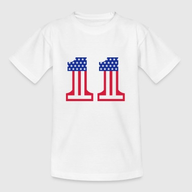 Stars And Stripes 1 - Børne-T-shirt