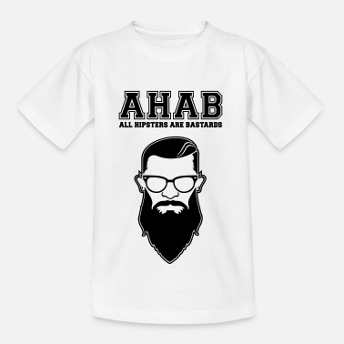 Fck Cps ALL HIPSTERS ARE BASTARDS - Funny Parody  - T-shirt Enfant