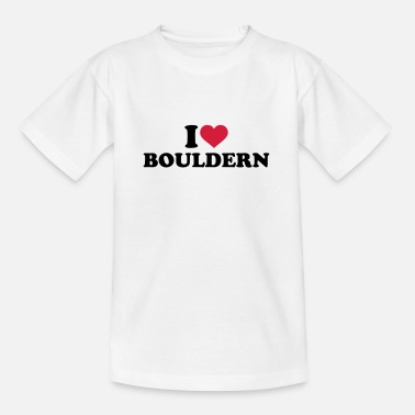 Mountains bouldering - Kids' T-Shirt