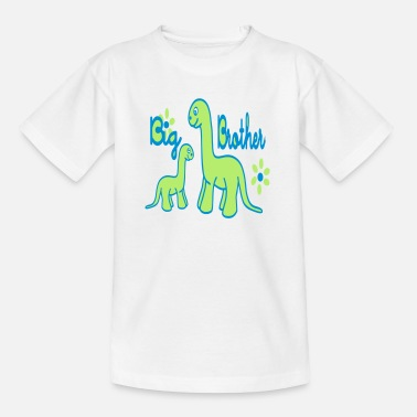 Big Brother Dino_big brother - Kids' T-Shirt