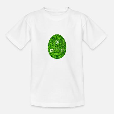 Search Easter lucky charm - Kids' T-Shirt