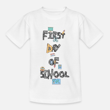 First First day of school - Kids' T-Shirt