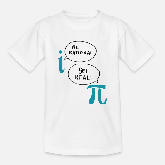 Maths T-Shirts - Great Beautiful Best Math Sayings Funny Gifts - Kids' T-Shirt white