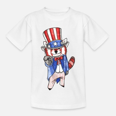 Red panda is looking for you! - Kids' T-Shirt
