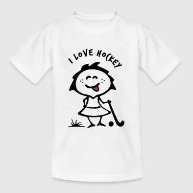 hockey Girlie - Kinderen T-shirt