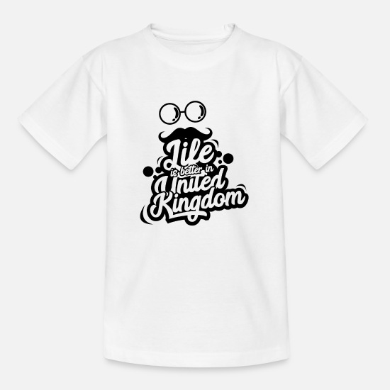 United Kingdom T-Shirts - United Kingdom - Kids' T-Shirt white