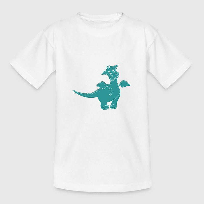 Little dragon - Kinder T-Shirt