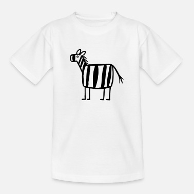 Zebras Zebra - Zebra Crossing - Kids' T-Shirt