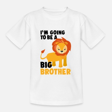 Big Big Brother Lion - Kinder T-Shirt
