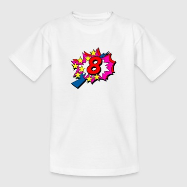 POP Star 8 - Kids' T-Shirt