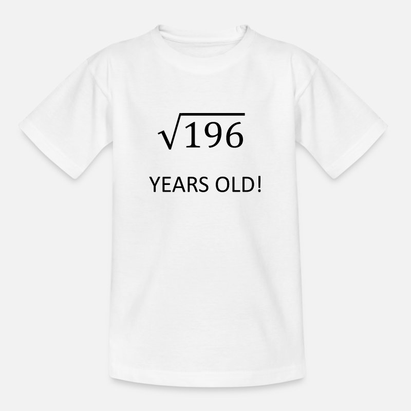 14th Birthday Gift Idea Kids Teen Shirt By Hourglass Design
