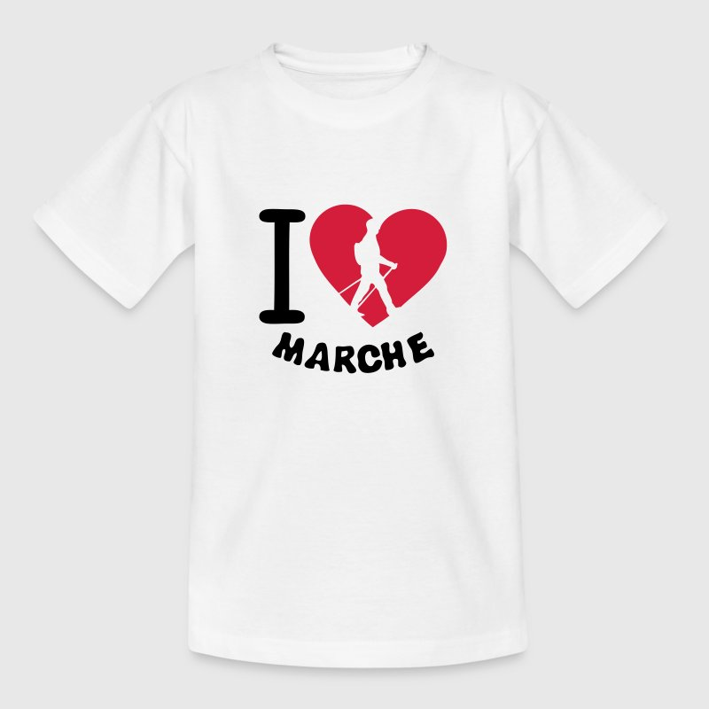 love marche nordique2 nordic walking bat - T-shirt Enfant