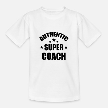 Züge Coach / Coaching / Trainer / Sport - Kinder T-Shirt