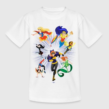 DC Super Hero Girls Super-Héroïnes Attaque - T-shirt Enfant