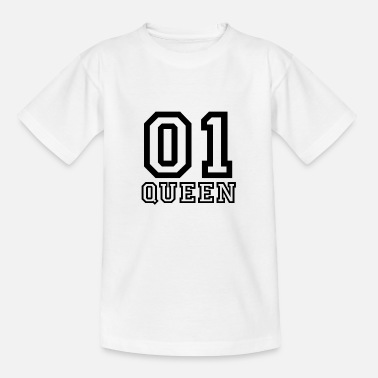 King Queen KING & QUEEN (Queen) - Kinder T-Shirt