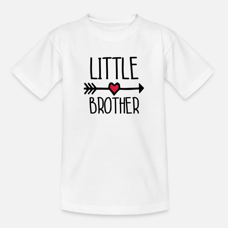 Big Brother T-Shirts - little brother - Kids' T-Shirt white