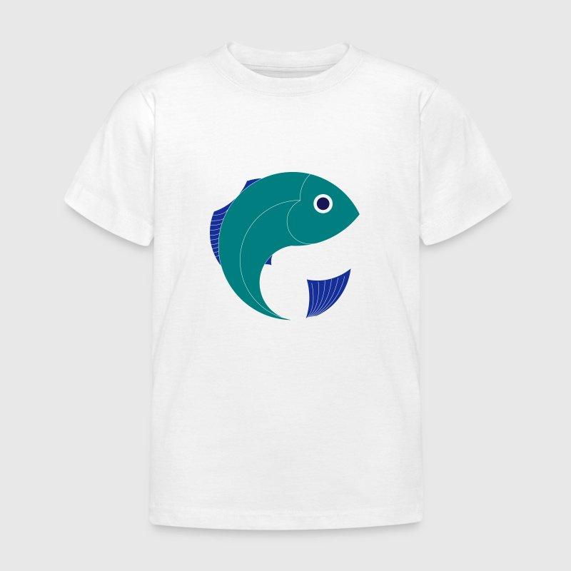 Pesce cartone animato grafica marina mare di spreadshirt