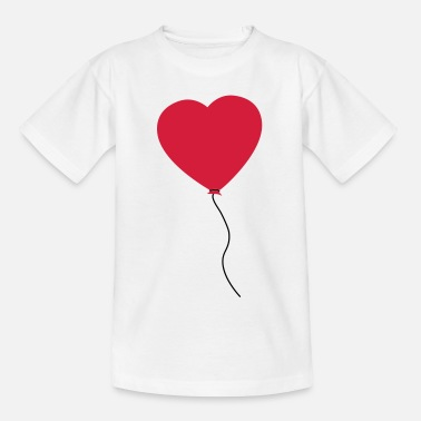 Corazon Love Heart Balloon - Kinderen T-shirt