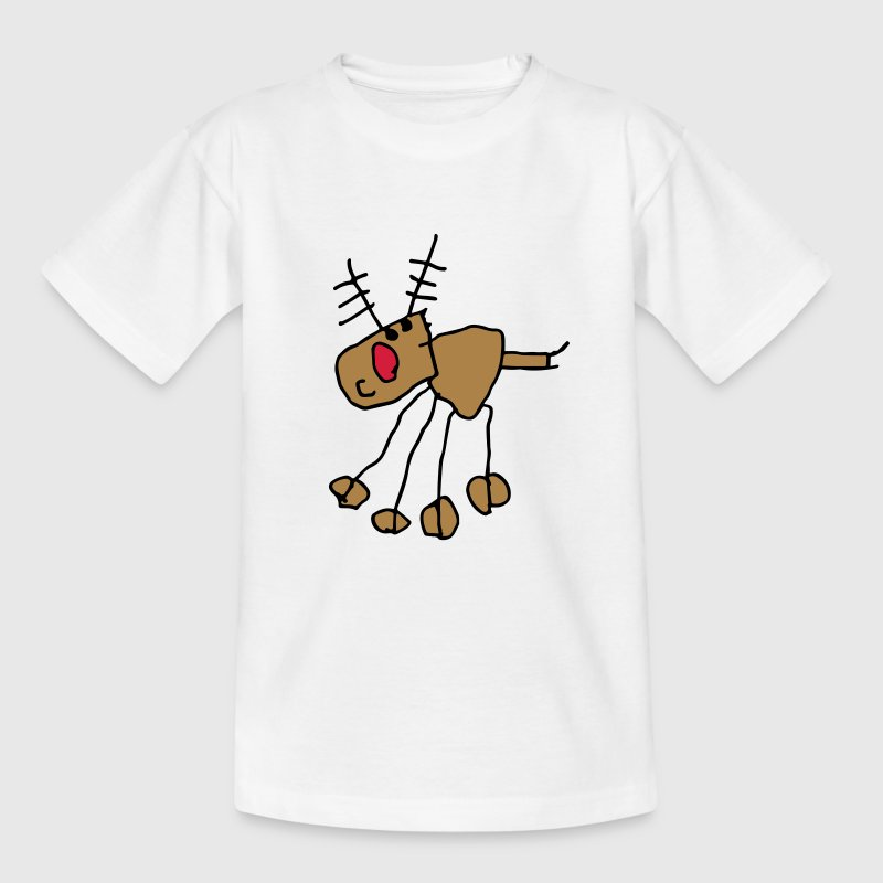 awesome kids rudolph reindeer - Kids' T-Shirt