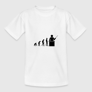 Lehrer Evolution - Kinder T-Shirt