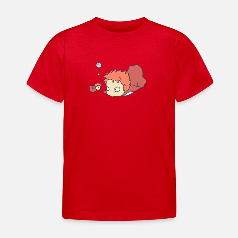 BambiniSpreadshirt Per Maglietta Ponyo Ponyo Per Maglietta BambiniSpreadshirt iOXuPZk