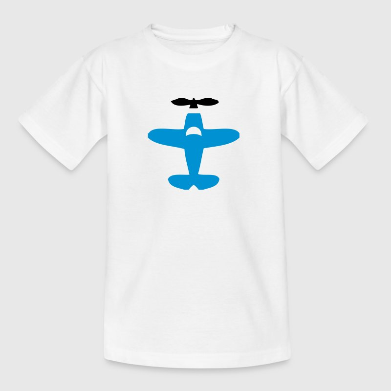 Cartoon Aeroplane - Kids' T-Shirt