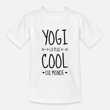 Yogi Yoga / Yogi / Buddhismus / Buddhist - Kinder T-Shirt