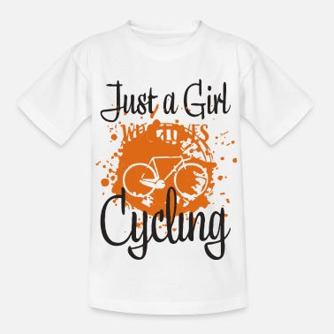 Biker Cycling - Kids' T-Shirt