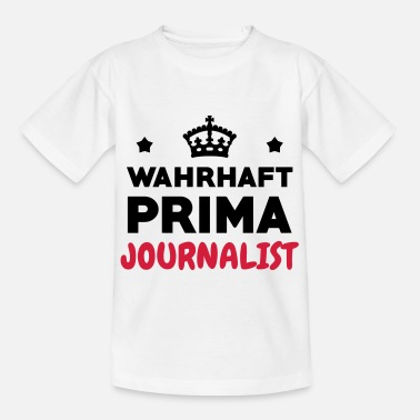 Sports Journalist / Journalismus / Zeitung / Reporter - Kinder T-Shirt