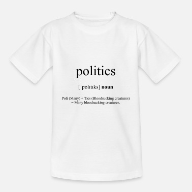 Description Politics - Kids' T-Shirt