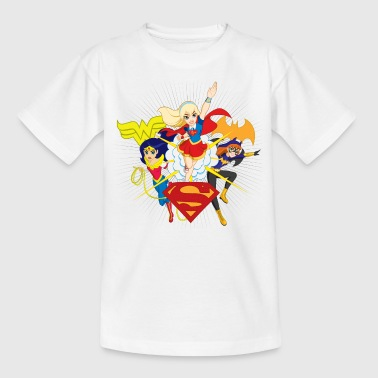 DC Super Hero Girls Wonder Woman Supergirl Batgirl - T-shirt barn