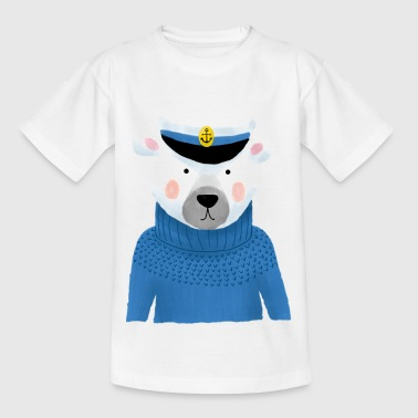 Kaptein sea dog - T-skjorte for barn