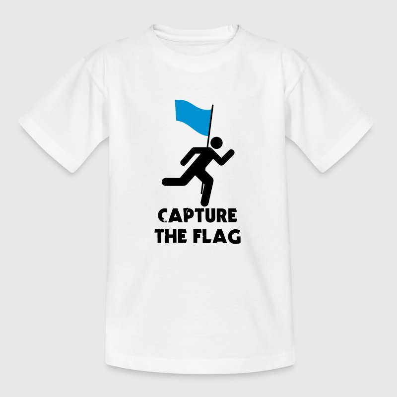 Capture The Flag Stickfigure - Kids' T-Shirt