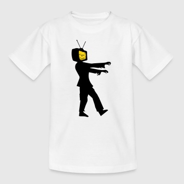 Television Zombie - Kids' T-Shirt
