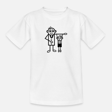 Matching Father & Son - Kids' T-Shirt