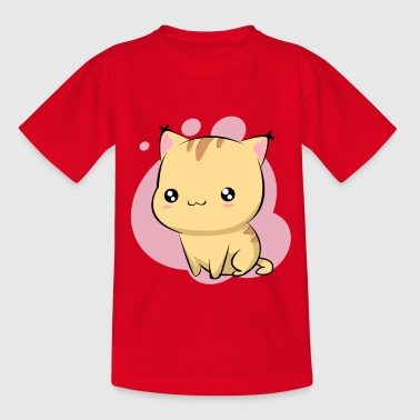 Cute cute cat - Kids' T-Shirt