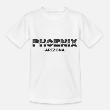Arizona Phoenix Arizona USA Amerika Patriot Flagge - Kinder T-Shirt