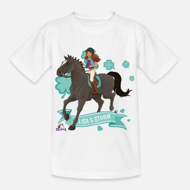 Lisa Schleich Horse Club Lisa & Storm ride together - Kids' T-Shirt