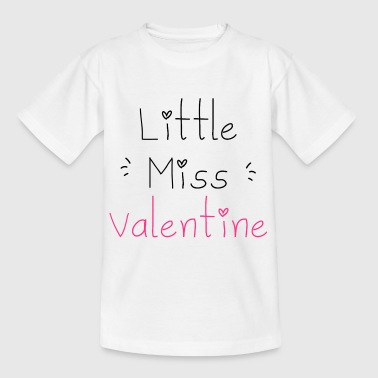 Little Miss Valentine - T-shirt Enfant