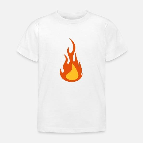 6f91ef67b Fire / Flame Mugs & Drinkware Kids' T-Shirt | Spreadshirt