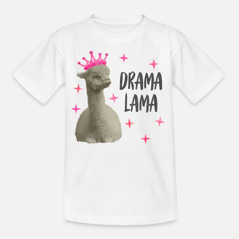 Aucun drame Llama Drôle T-shirt Homme