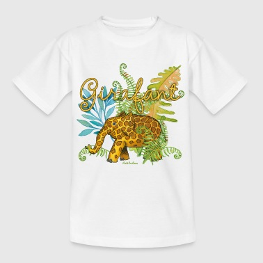 Girafant In The Jungle - Kids' T-Shirt